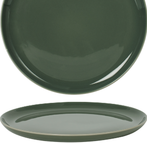 Coupe Plat Glassy Green