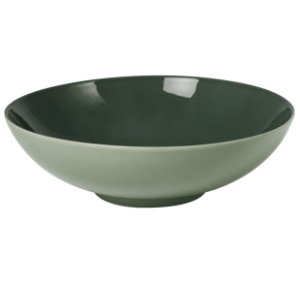 Low Bowl Glassy Green