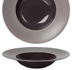 Deep Plate Glassy Taupe