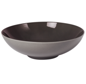 Low Bowl Glassy Taupe