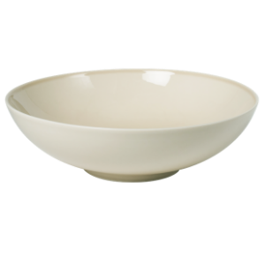 Low Bowl 17 cm Pearl Beige
