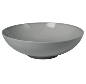 Low Bowl 17 cm Pearl Grey