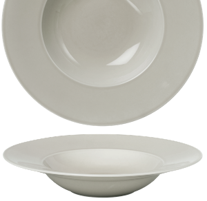 Deep Plate Pearl Light Grey