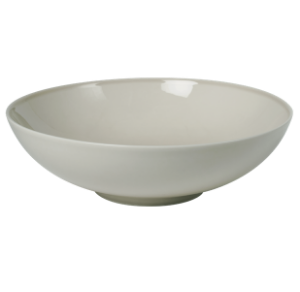 Low Bowl 17 cm Pearl Light Grey