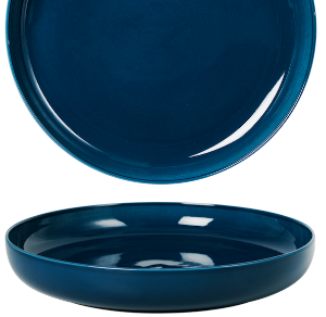 Deep Coupe Plate Pearl Navy