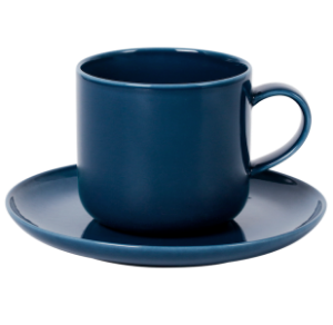 Cup and Saucer Set B 100 cc Pearl Navy