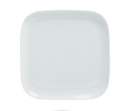 Square Coupe Plate 16cm-71102A