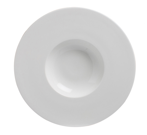Deep Plate 25cm With Wide Rim and 12.2cm Well-71181A