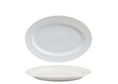 Oval Plate 24cm-71231A