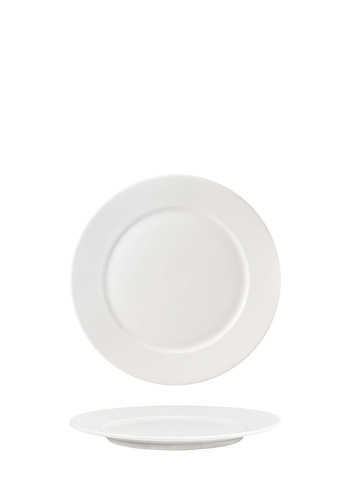 Flat Plate 16cm With  2.5cm  Rim -72001A
