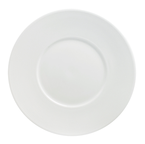 Flat Plate 29cm With Wide 6.3cm Rim-72061A