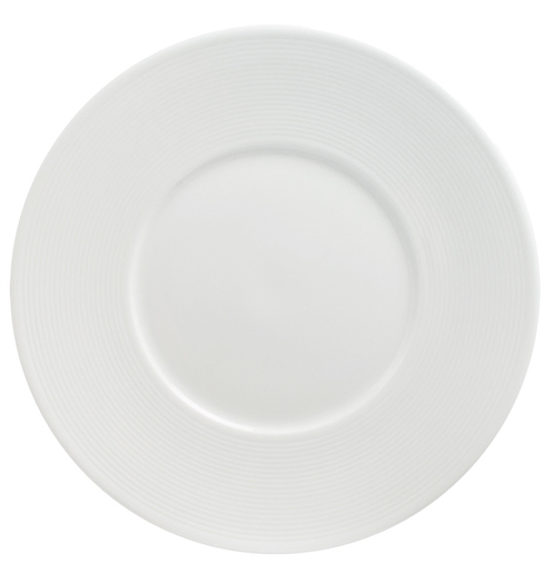 Flat Plate 31cm With Wide 7cm Rim-72073A