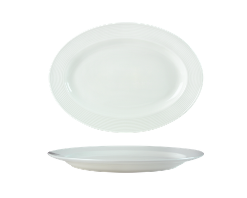Oval Plate 36cm-72261A