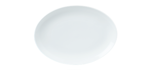 Oval Coupe Plate 21cm 8.25inches-73222A