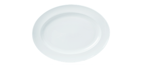 Oval Plate 24cm 9.25inches-73231A