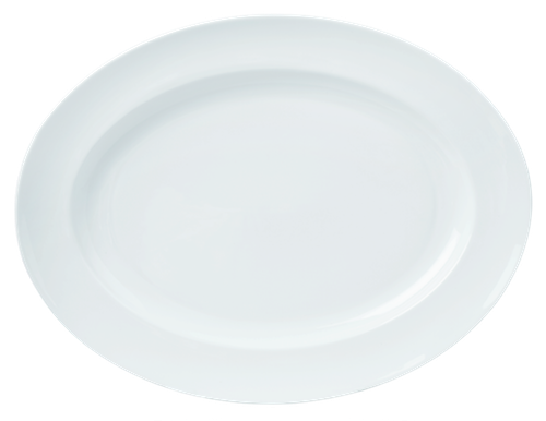 Oval Plate 46cm 18inches-73281A