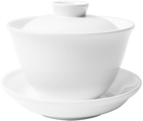 Chinese Tea cup with cover  160cc and saucer 10.5cm Set-73637A-9